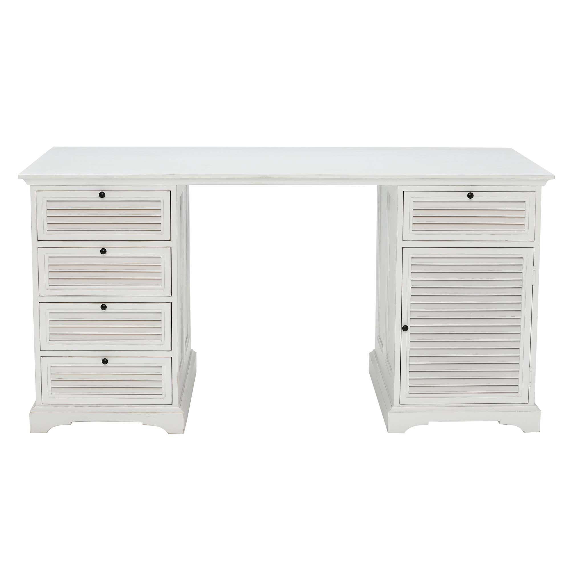 valatella double pedestal desk antique white dressing tables rh pinterest com