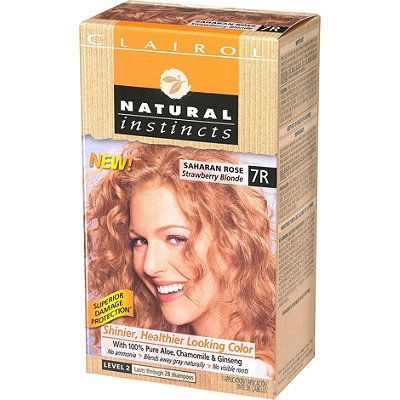 Clairol Clairol Natural Instincts With Images Dark Strawberry