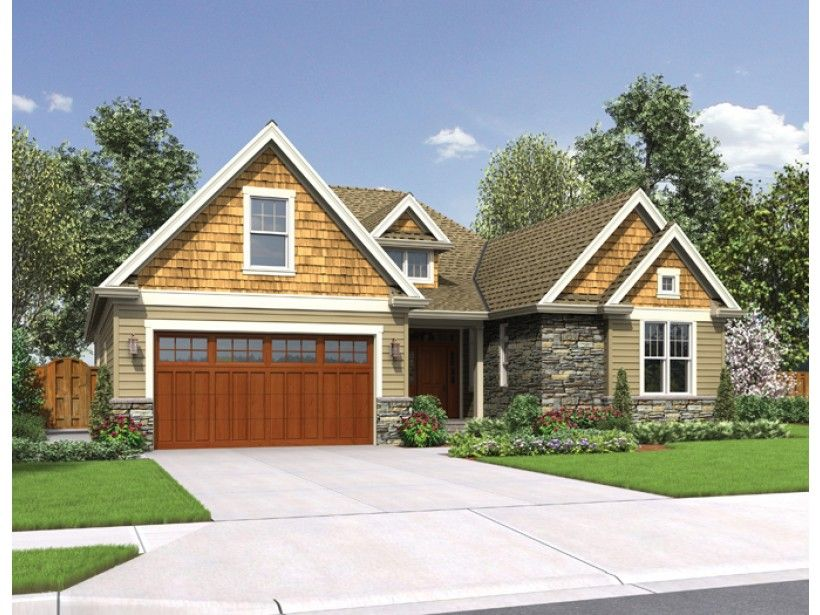 Craftsman House Plan with 2203 Square Feet