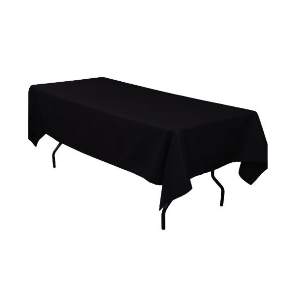 60 x 102 inch rectangular black tablecloths black rectangle table rh pinterest com
