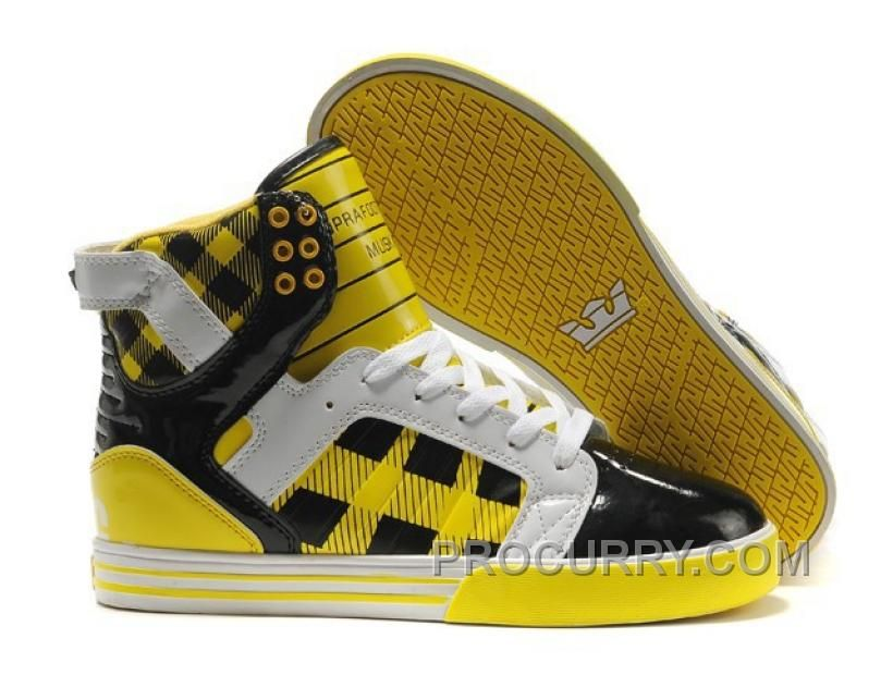 https://www.procurry.com/supra-skytop-high-womens-yellow-black-white.html SUPRA SKYTOP HIGH WOMENS YELLOW BLACK WHITE Only $73.00 , Free Shipping!