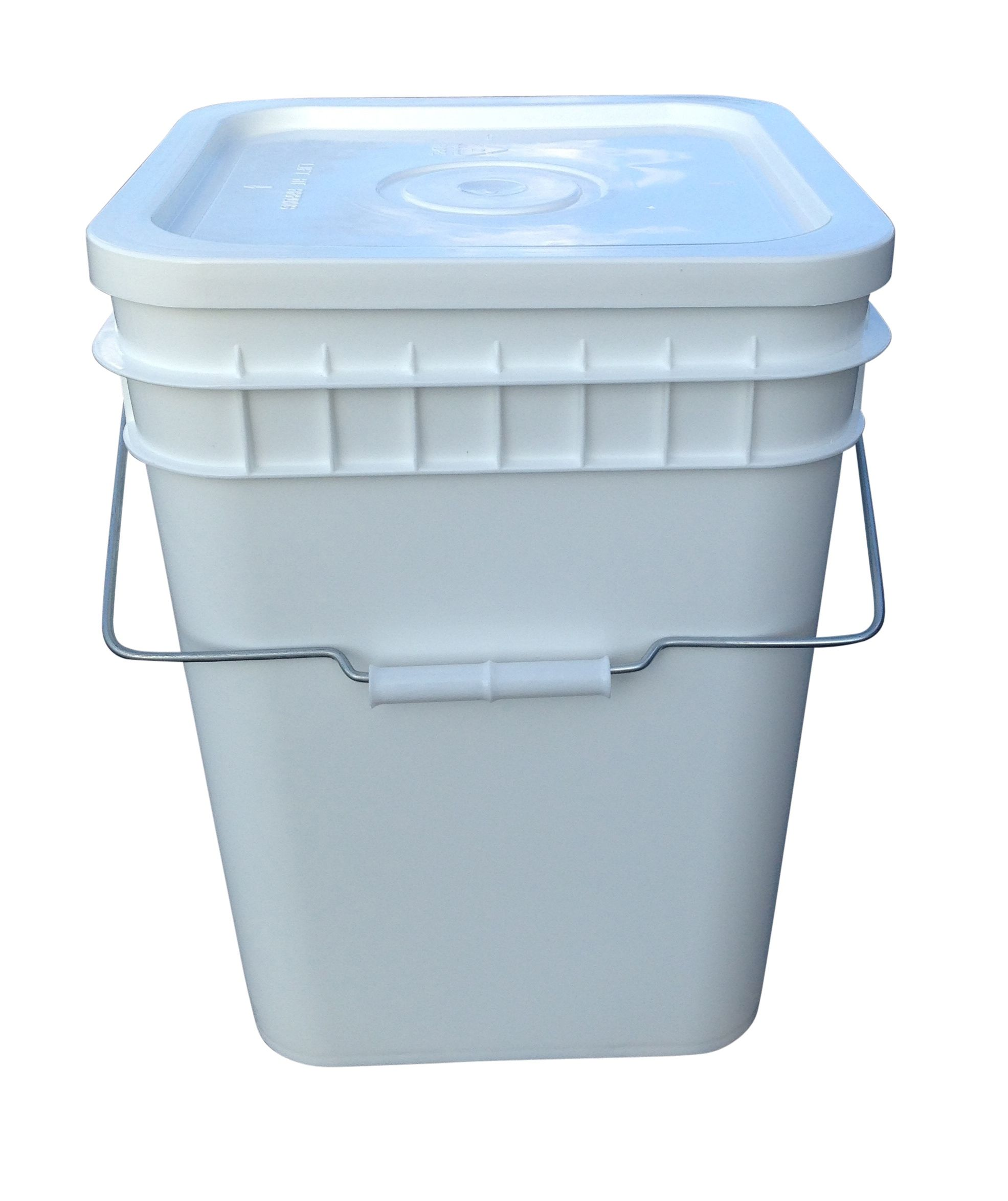 Food Grade 3 Gallon Square Buckets So Useful For Garden And Kitchen I Stack Em Up Food Storage Living Off The Land Survival Prepping