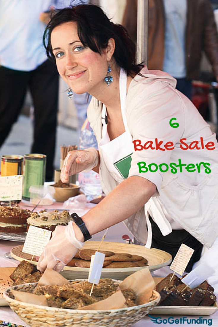 6 Bake Sale Boosters