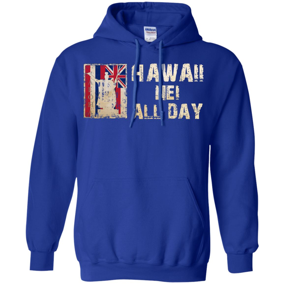 Hawaii Nei ALL DAY Pullover Hoodie 8 oz