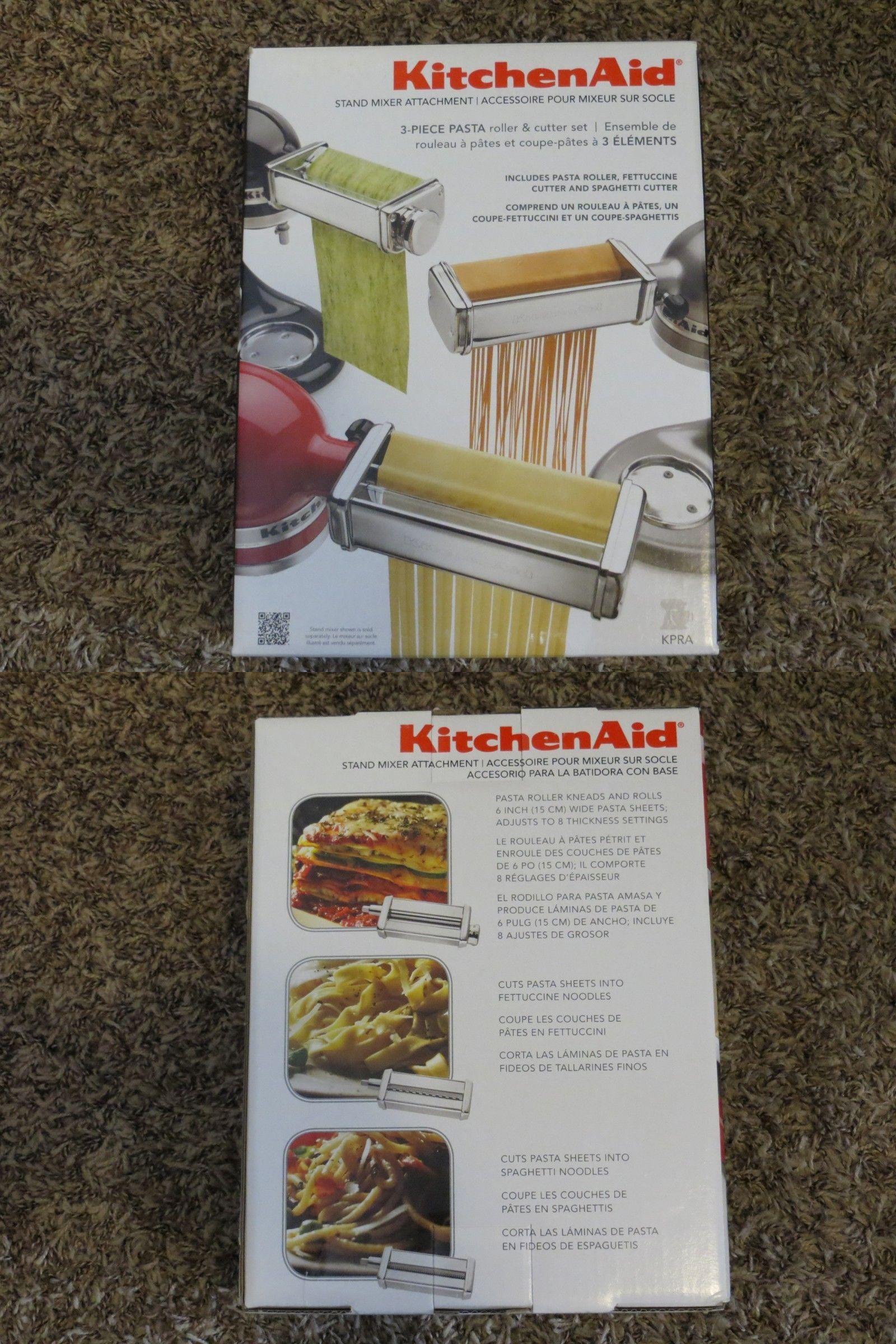 pasta makers 20680 kitchenaid kpra pasta roller and cutter set 3 rh pinterest com
