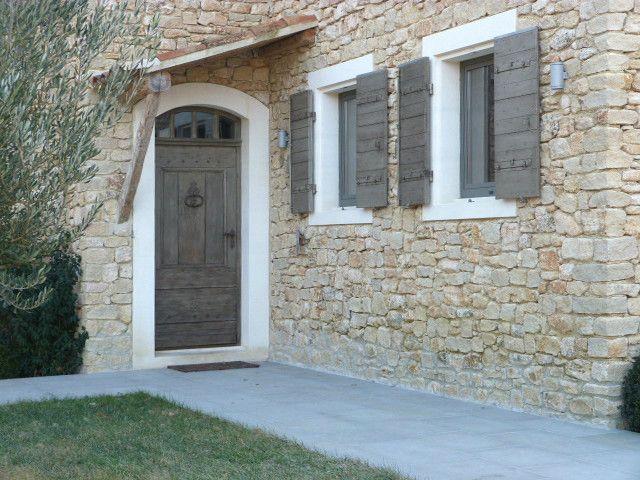 porte fen tre et volets la patine des boiseries r hausse la pierre nos r alisations portes. Black Bedroom Furniture Sets. Home Design Ideas