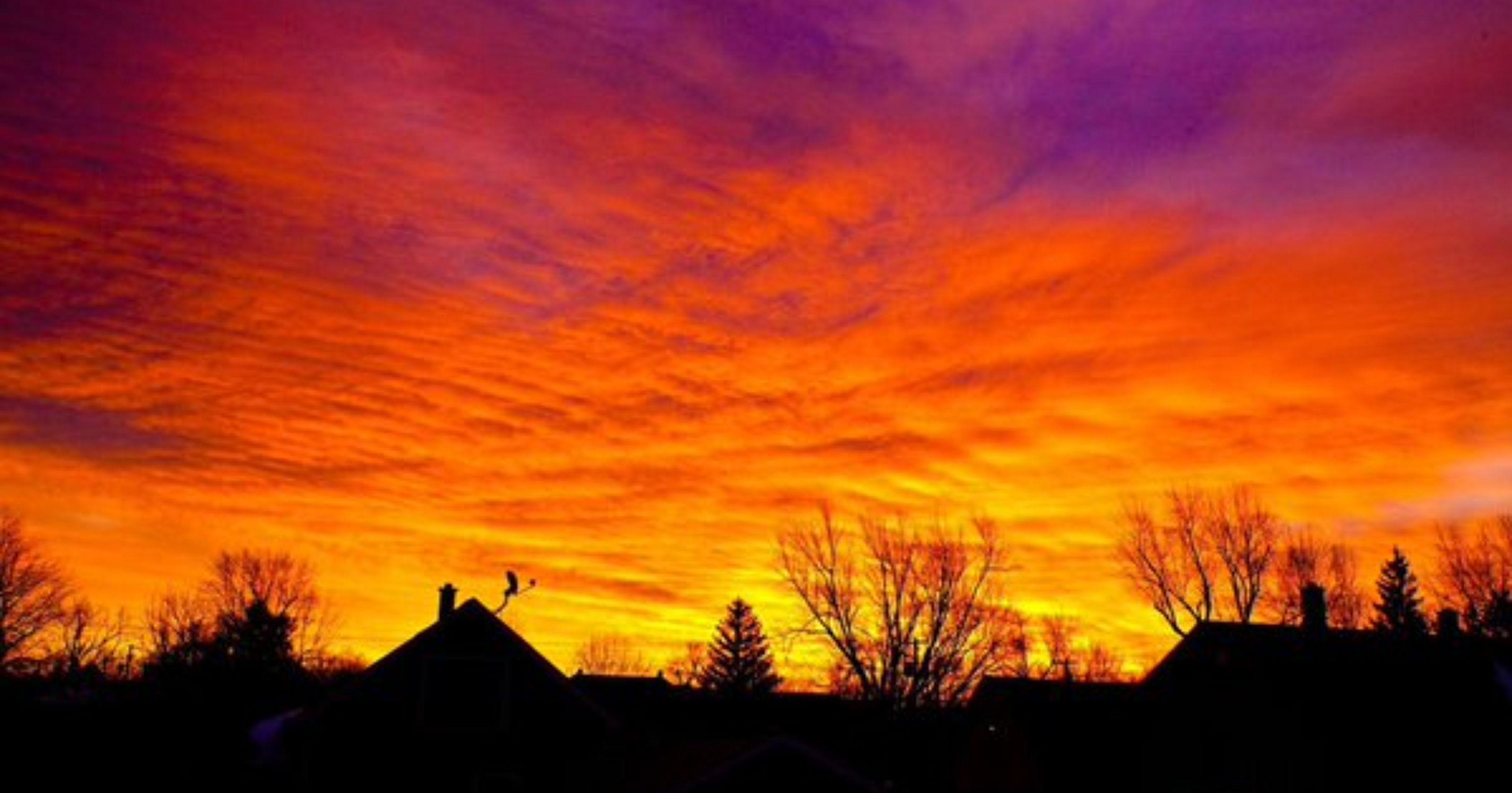 Sunrise in WNY 01/08/16