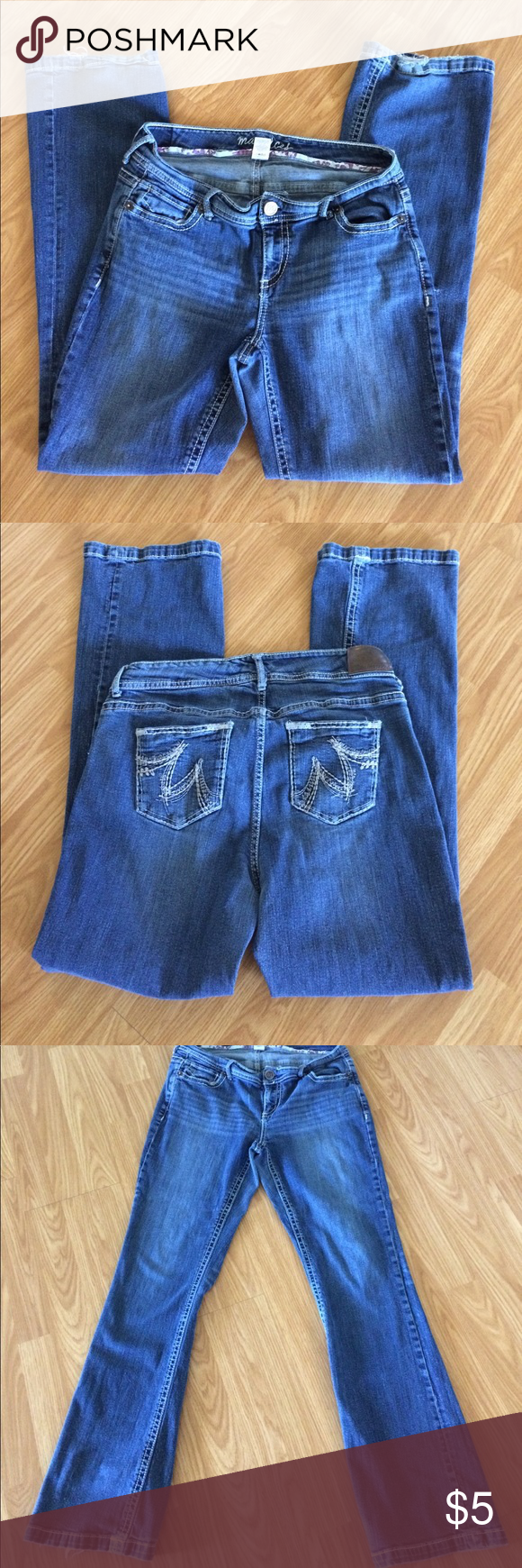 $5 Bundle Item Maurices 16 Long Boot Cut Jeans GUC! Flaws as pictured. Bundle Items must be bundled with three or more items to receive bundle price. Maurices Jeans Boot Cut