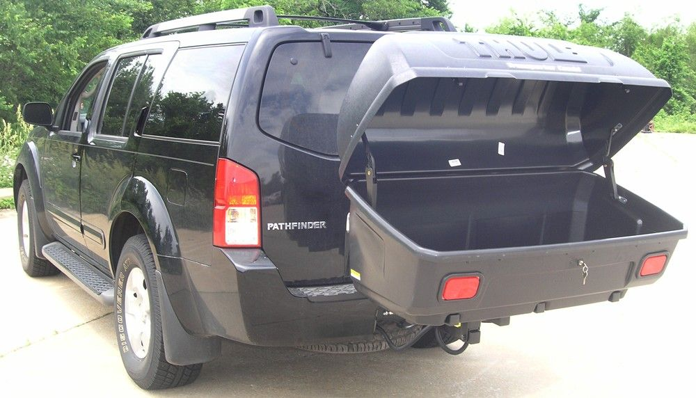Luggage Rack For Suv New Thule Transporter Combi Hitch Mounted Enclosed Cargo Carrier Review