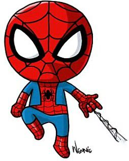 Spiderman Art Drawings Cute Kawaii Drawings Kawaii Drawings