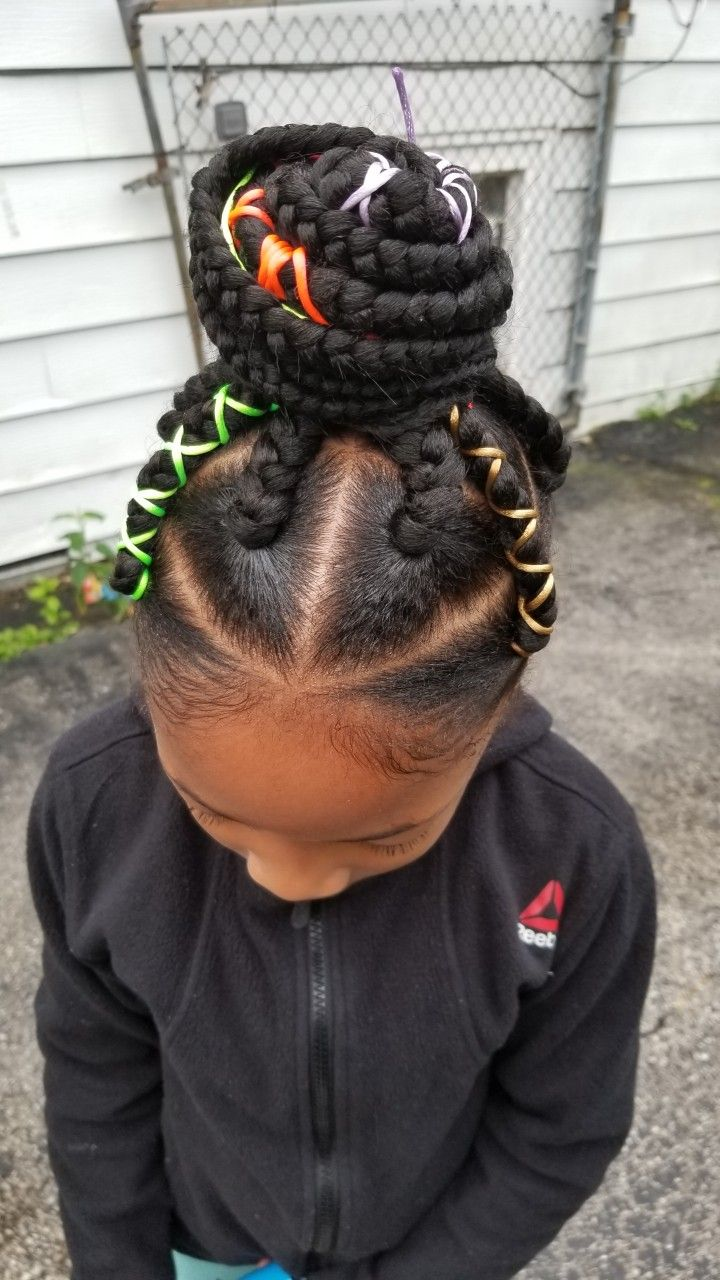 Little girl box braids hair in pinterest braids hair