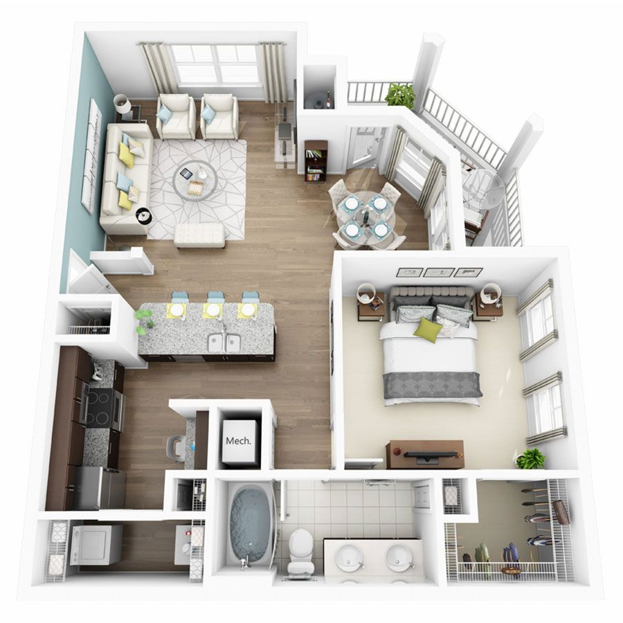 simple 3 bedroom house plans%0A       u       Bedroom Apartments in Austin TX   Altis Lakeline Apartments
