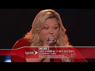 """The Voice: The Live Shows Premiere, Part 2: Shelbie Z.: Fancy -- The former beauty contestant shines with her version of Bobbie Gentry's """"Fancy."""" -- http://wtch.it/oX3av"""