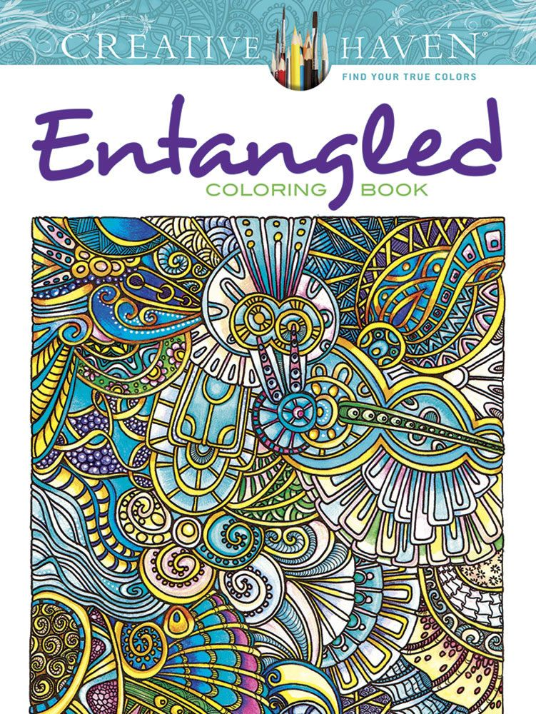 Creative Haven ENTANGLEED Coloring Book By: Dr. Angela Porter ...