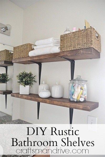 wall mounted wood shelves foter living pinterest rustic rh pinterest com