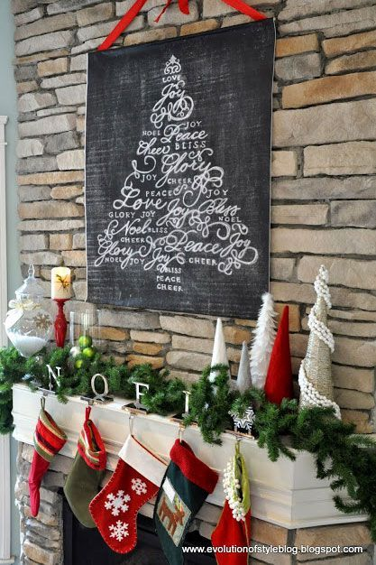 50 Country Ways to Add Christmas Cheer to Your Holiday Mantel