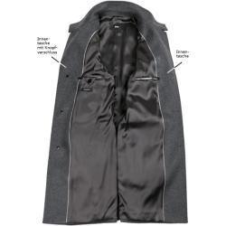 Boss Herren Mantel Coat Schurwolle Kaschmir Grau Hugo Boss In 2020 Boss Coat Hugo Boss Coat