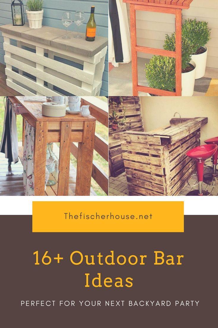 Outdoor bar ideas creative patio outdoor bar