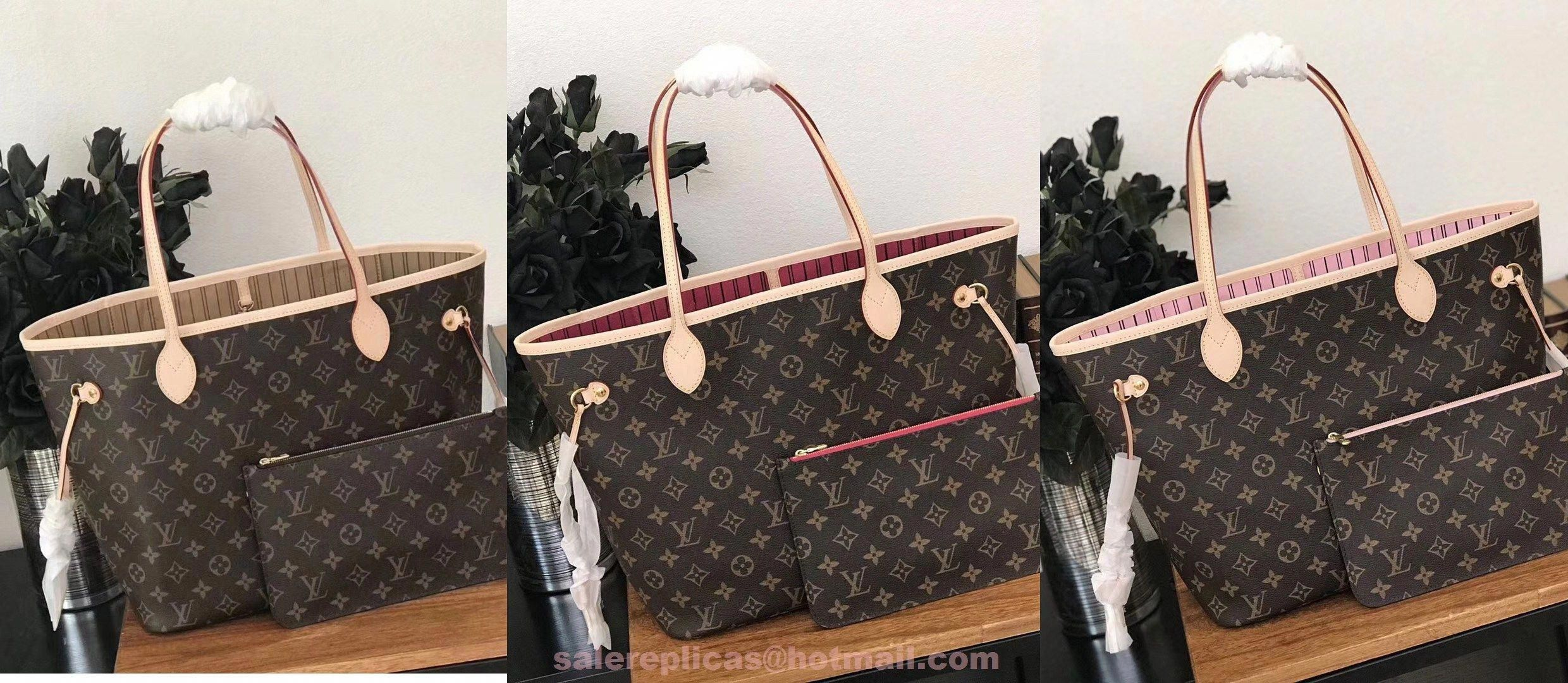 replica Louis Vuitton Neverfull MM Monogram Canvas Handbag   Louisvuittonhandbags 3351c98e5a412