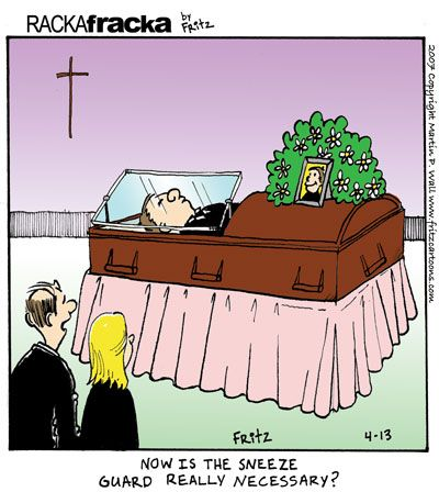 Image result for funeral cartoons