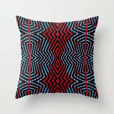 Viper #8 Throw Pillow by Ornaart - $20.00
