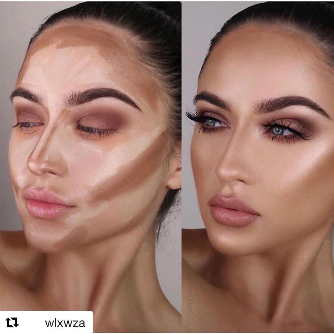 Highlights And Contours Dramatic Makeup Look In 2020 Birthday Makeup Looks Contour Makeup Makeup Looks