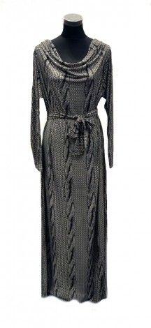 The Realist Rope Cowl Neck Dress - Abaya Addict
