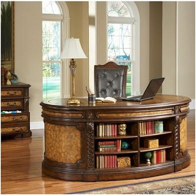 Intriguing Curved Design With Open Front For Book Storage Unique Home Office E