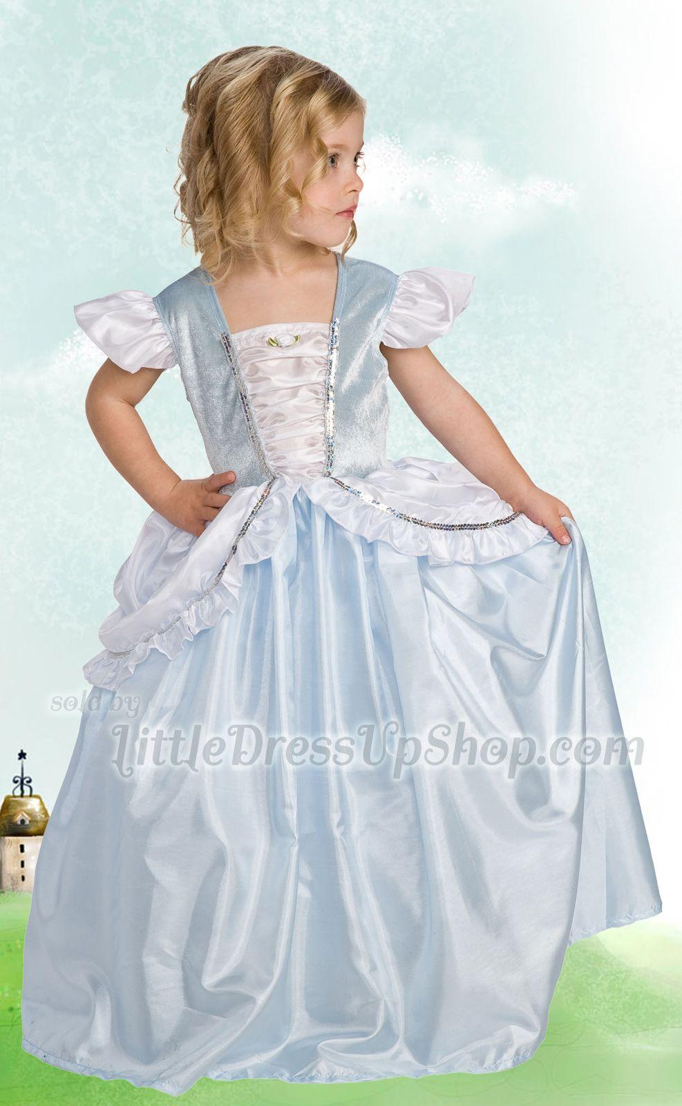 Cinderella Dress Up Costume   Cinderella dresses, Costumes and Princess