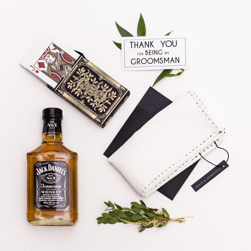 Groomsman gift box for Toronto Groomsmen gifts. Whisky