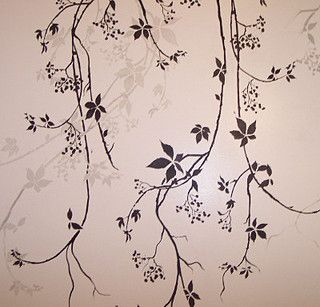 leaf and vine stencils beautiful wall stencils by cutting edge rh pinterest com