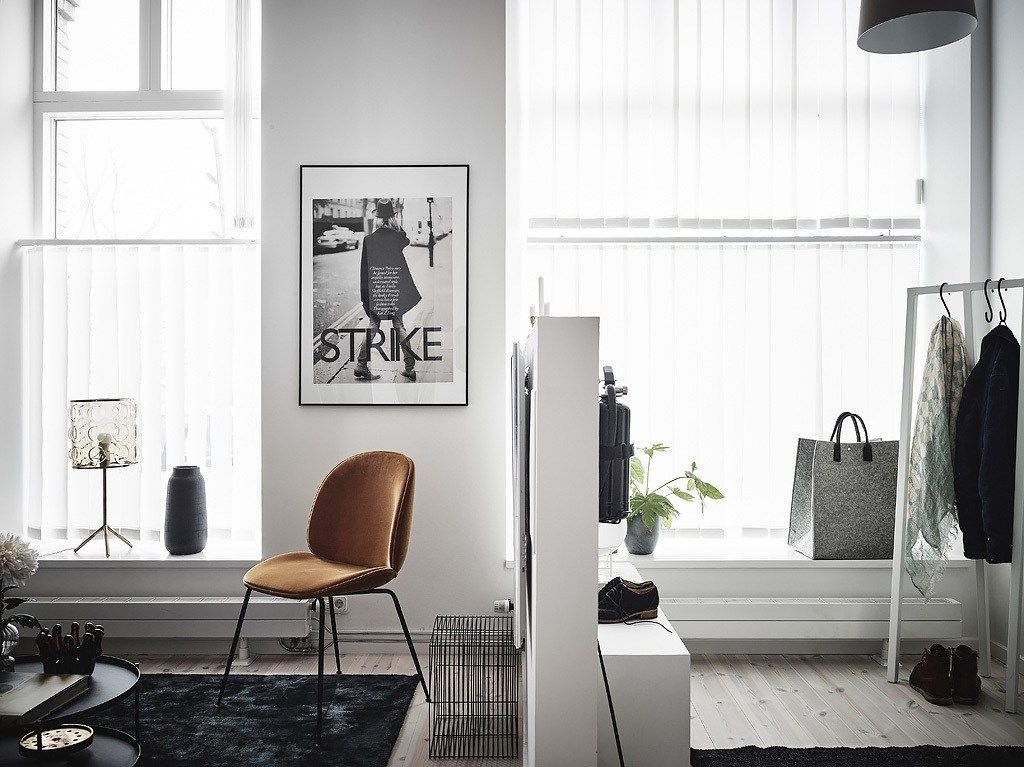 exposed brick and black bedroom walls minimalist home styling rh pinterest it