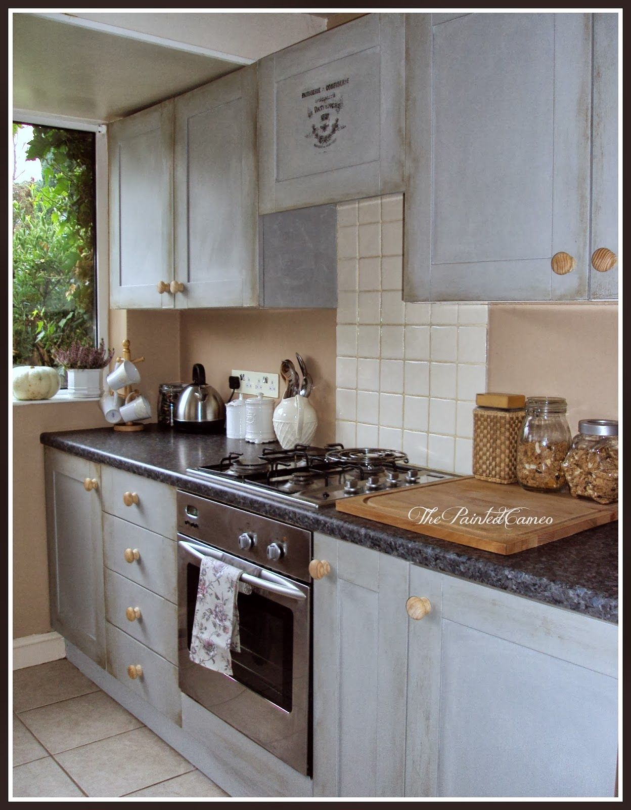 Thepaintedcameo Paris Grey Kitchen Cabinets Kitchen Grey Cabinets Kitchens Paris P In 2020 Kitchen Cabinets Laminate Flooring In Kitchen Grey Kitchen Cabinets