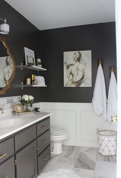 sexy hotel like master bathroom guest bathroom bathroom grey rh pinterest com