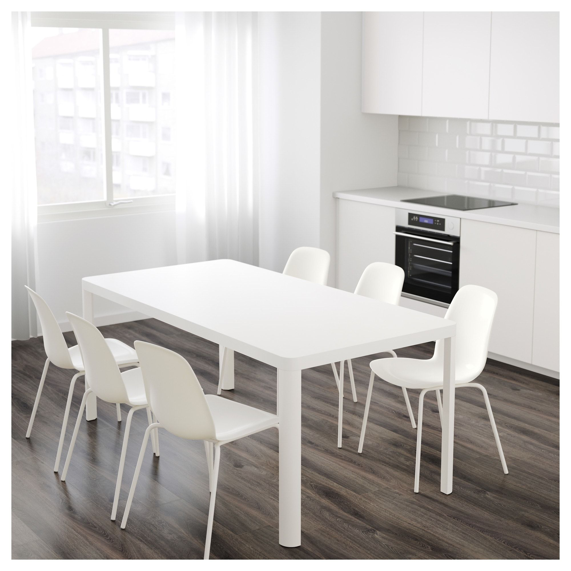 ikea ingatorp drop leaf table white country club makeover rh pinterest com