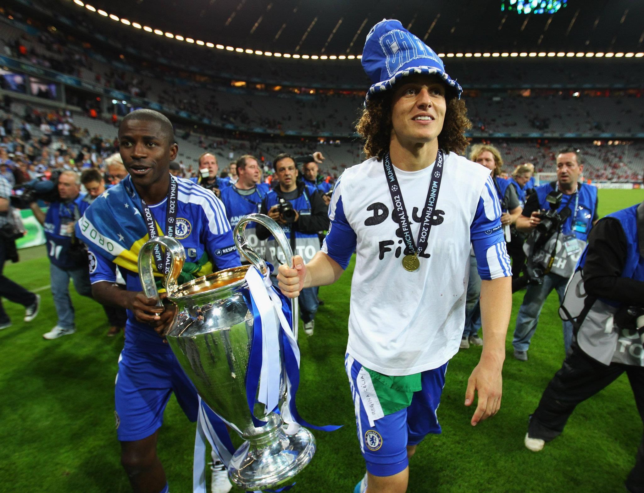 4cc858632 Luiz & Ramires! Chelsea FC UEFA Champions League Winner! <3 ...