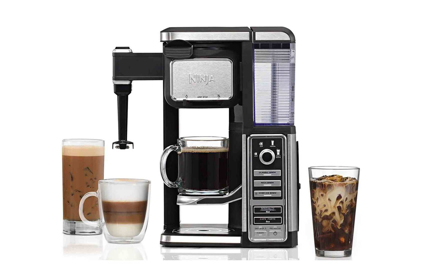 Ninja Coffee Bar SingleServe System With Builtin Frother
