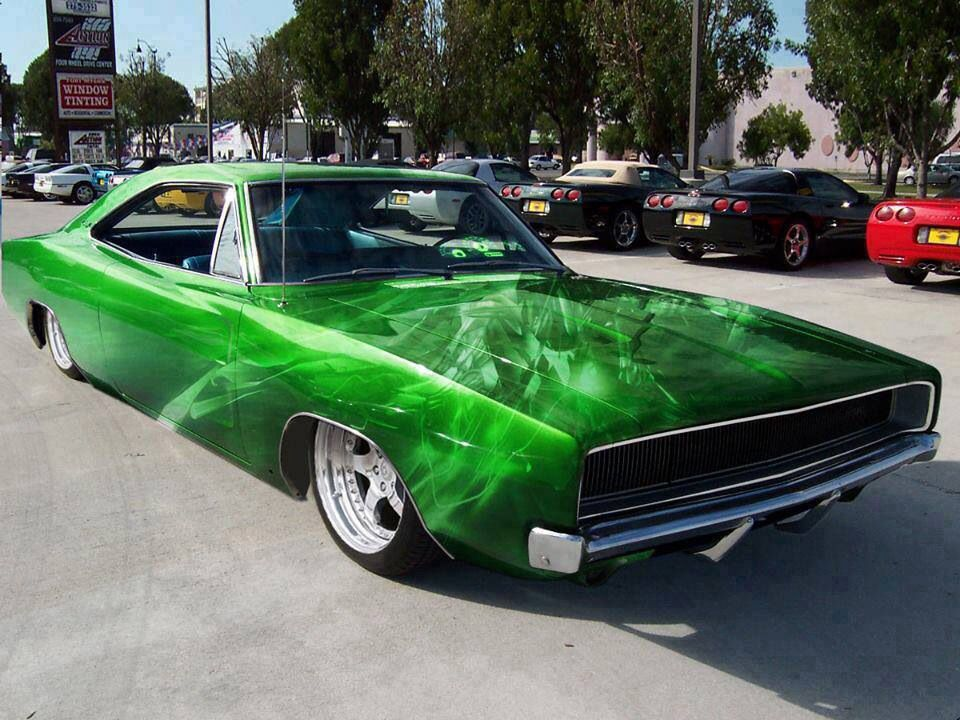Classic Man Cave Jobs : Cars trucks with flaming skull paint jobs bing images bikes