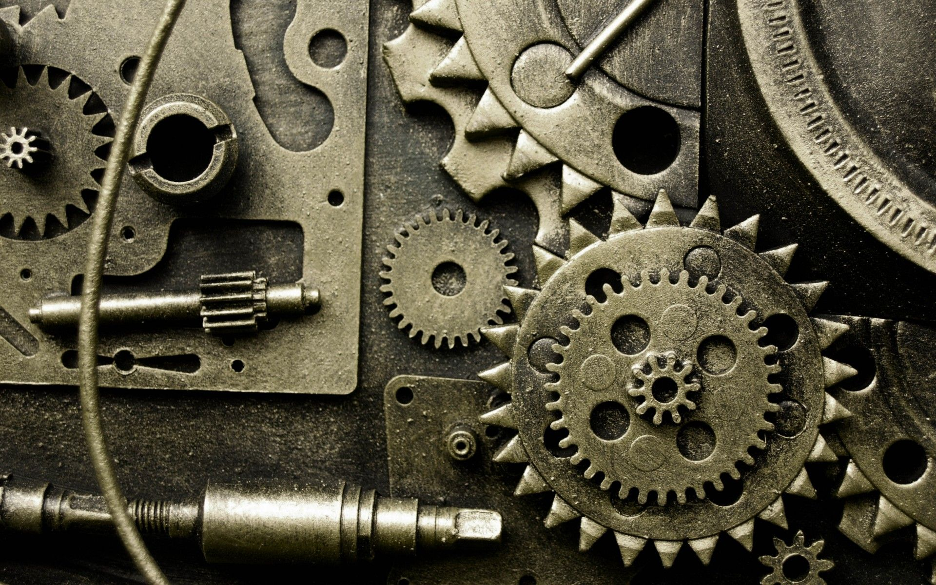 Watch Top Gear Online >> Metal gears abstract machine pattern wallpaper | 1920x1200 ...
