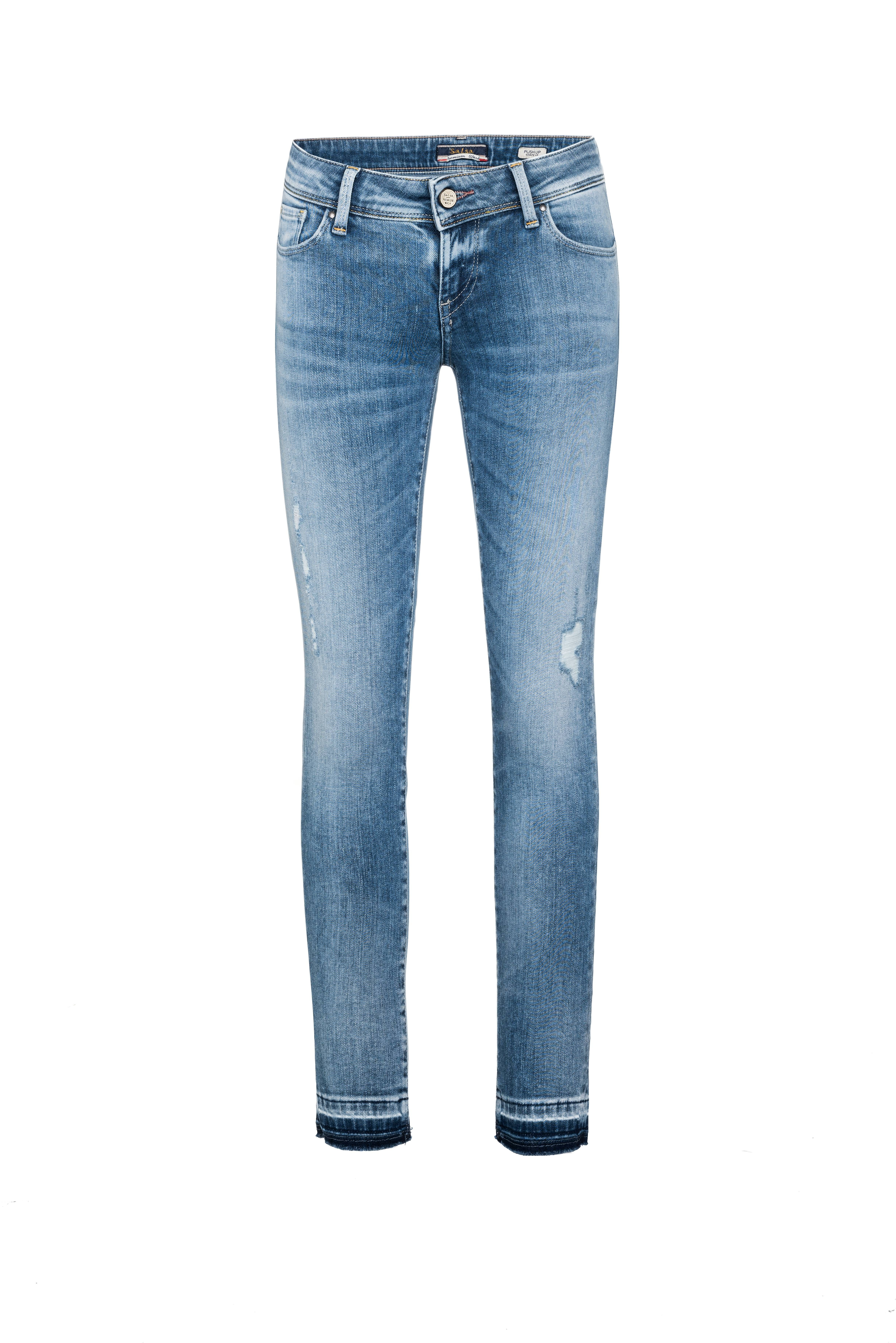 aa431d95 Vaqueros Shape up Capri premium wash - Salsa | w denim in 2019 ...
