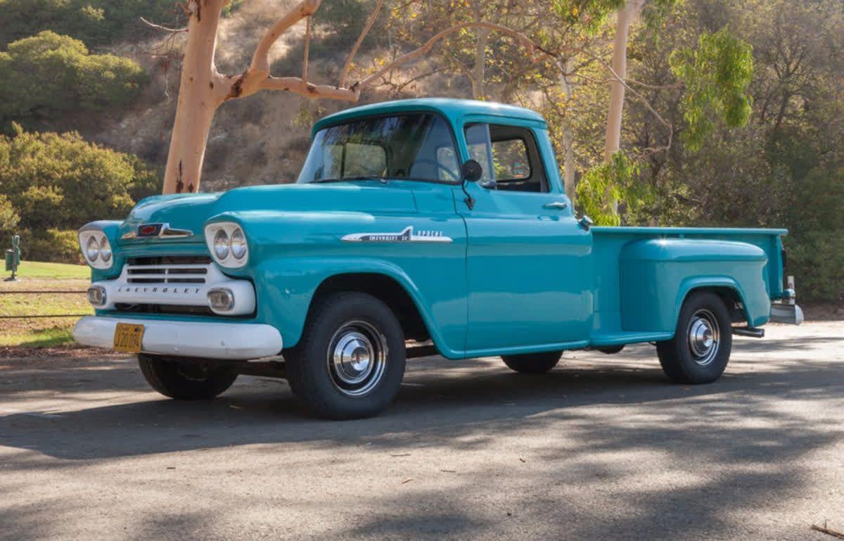 here s a 1958 chevrolet apache 32 stepside truck for rh za pinterest com