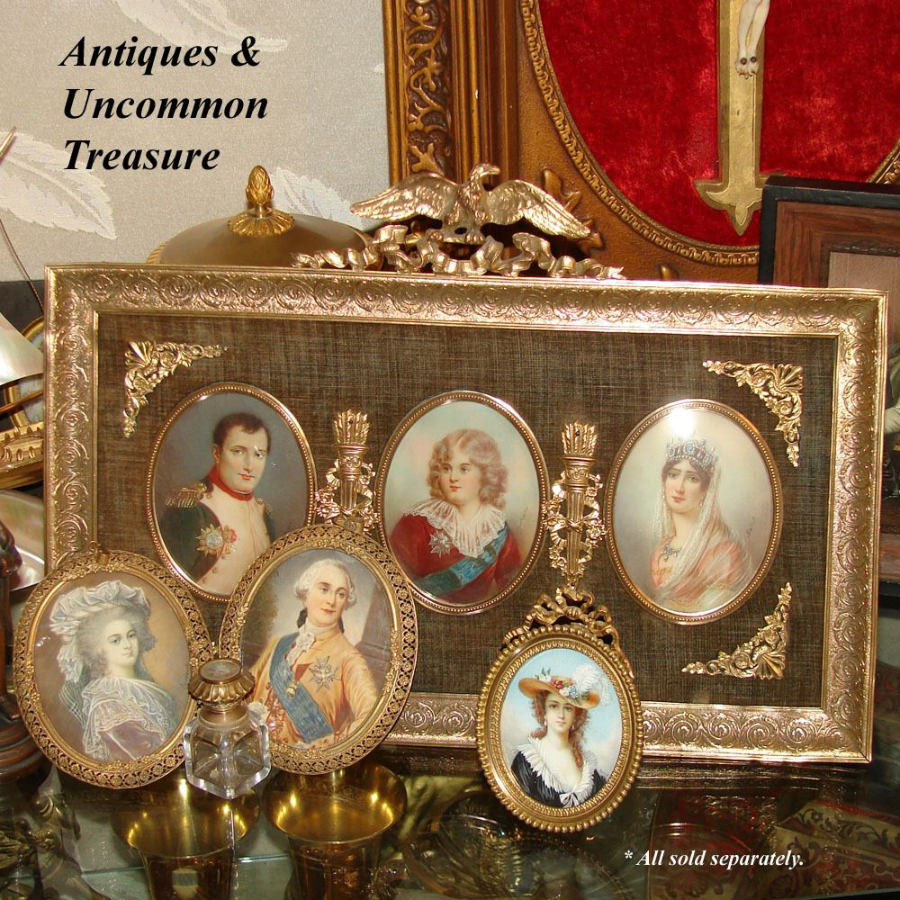 king+louis+xvi+and+marie+antoinette | ... French Portrait Miniature Pair King Louis XVI Marie Antoinette | eBay