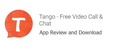 Tango Free Calls, and Chat App Review and Download