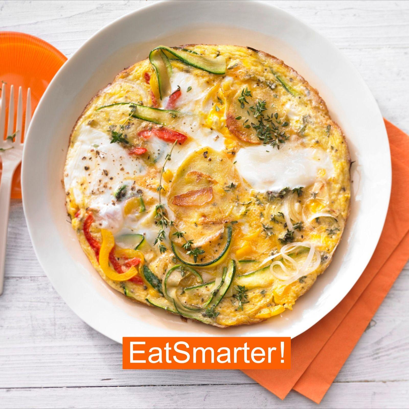 Photo of Kartoffel-Gemüse-Tortilla mit Paprika und Zucchini | EAT SMARTER