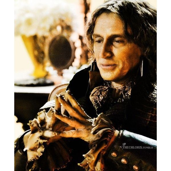 Rumpelstiltskin [once upon a time] ❤ liked on Polyvore featuring once upon a time, ouat, models and people