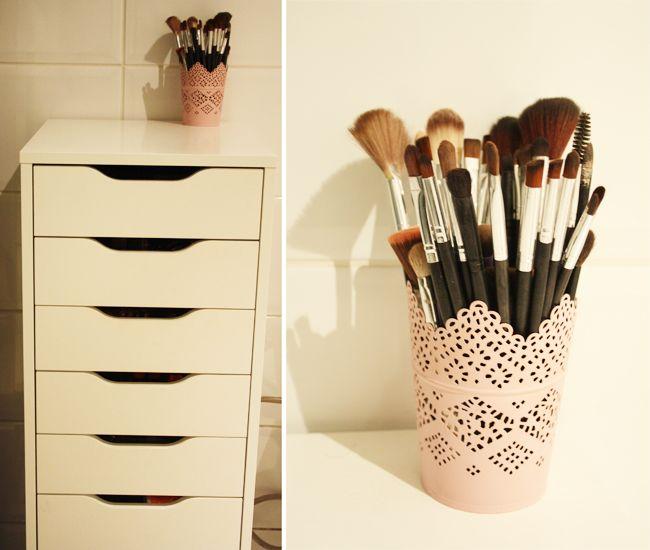 Mon rangement maquillage pratique et efficace nolita - Meuble de rangement pour maquillage ...
