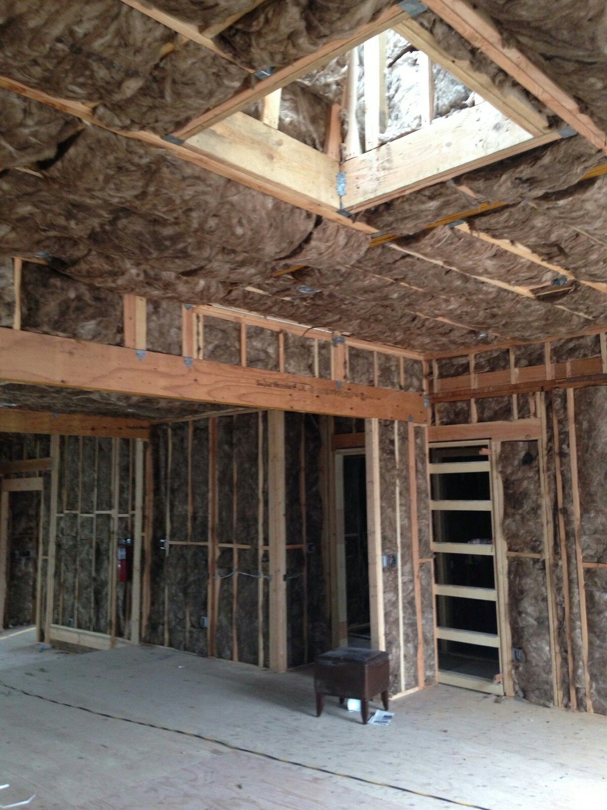 Interior Wall and Ceiling Insulation Complete at Drexel! # ...