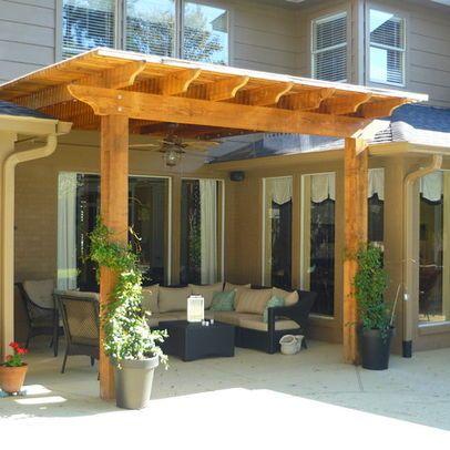 20 Beautiful Covered Patio Ideas | Patio Trellis, Wood Pergola And Pergolas