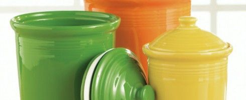Fiestaware Canisters Set Kitchen Canister Sets Grand Home Decoration
