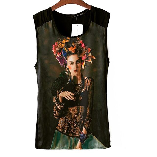 22515c53570 Blouse like Frida Kahlo vintage. Blouse like Frida Kahlo vintage Vintage  Shirts